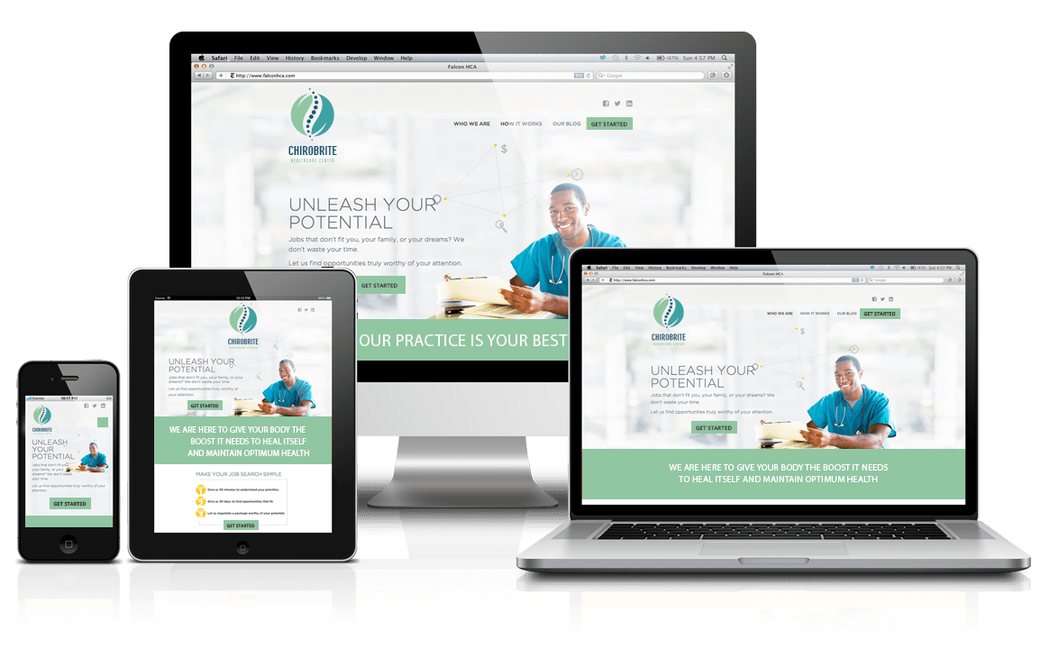 Responsive Chiropractic Website Design